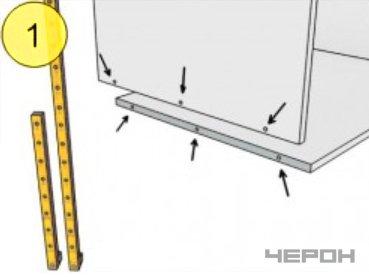 Мебельный кондуктор укороченный шаг 25/50 диаметр втулки 5 мм, МК-10